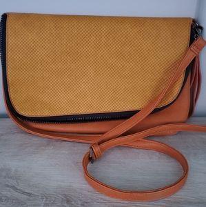 Mustard Yellow Crossbody/Shoulder Handbag